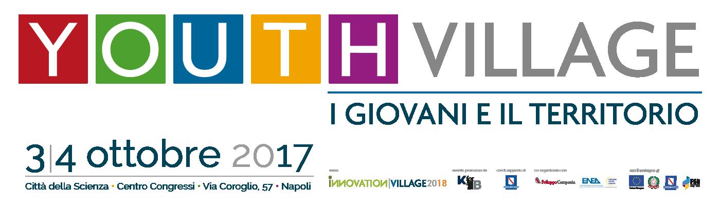 Youth Village 2017 - 3/4 Ottobre - Città della Scienza - Napoli
